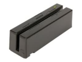 MagTek USB HID MSR, Dual-Head, 3-Track, Black, USB Cable 6ft., 21040140, 7373301, Magnetic Stripe/MICR Readers