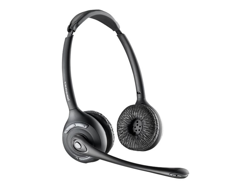Plantronics CS520 Over-The Head Binural Headset, DECT 6.0, 84692-01, 13068910, Headsets (w/ microphone)