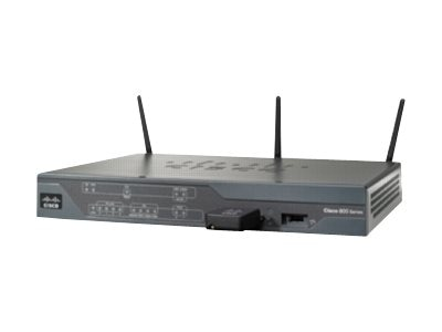 Cisco 881 Ethernet Secure Router w  802.11N FCC Compliant, C881W-A-K9, 13429316, Broadband Routers