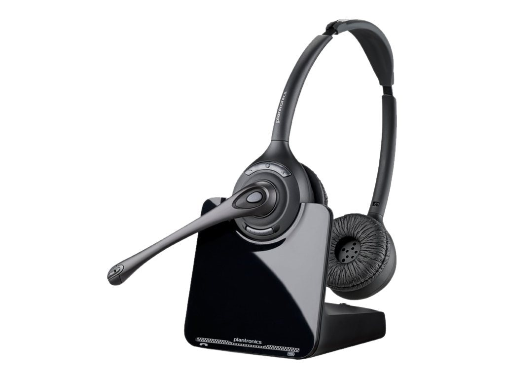 Plantronics CS520 Headset Wireless DECT 6.0 with HL10 Lifter, 84692-11