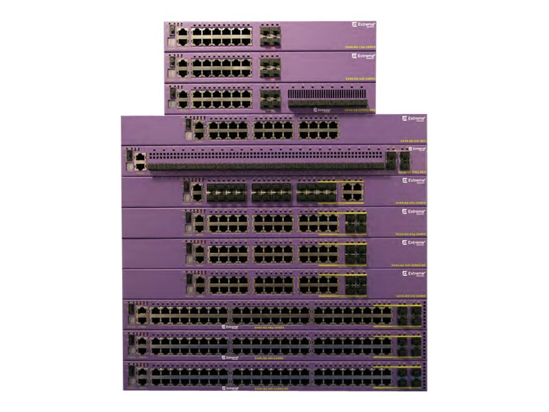 Extreme Networks X440-G2 24-Port GbE PoE+ Switch w 4xSFP Combo, 16533, 31657013, Network Switches