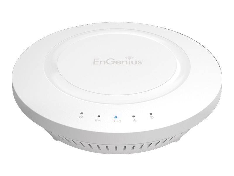 Engenius Technologies IEEE 802.11A B G N AC High-Powered Dual Band 2x2:2 Cieling-Mounted Wireless Access Point