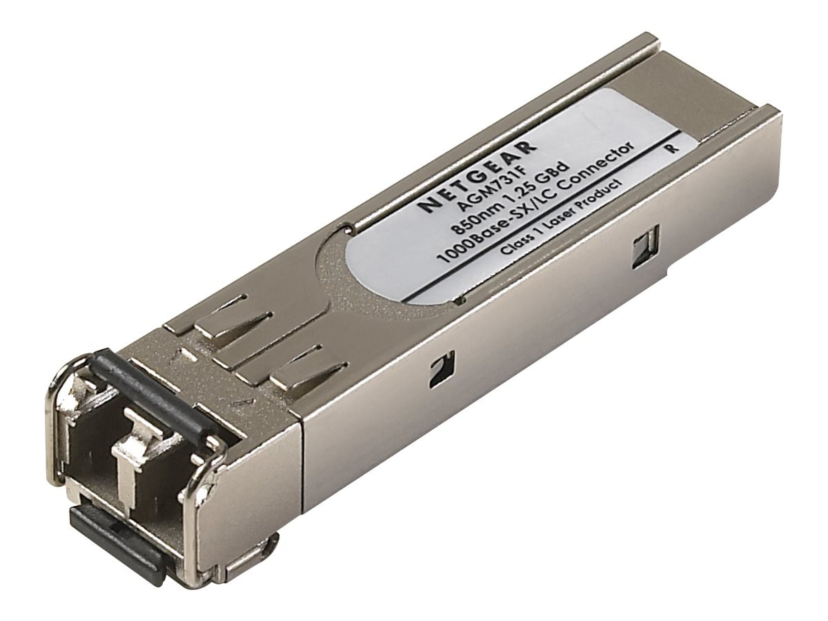 Netgear 1000BaseSX Gigabit Module for GSM7324, AGM731F, 456972, Network Transceivers