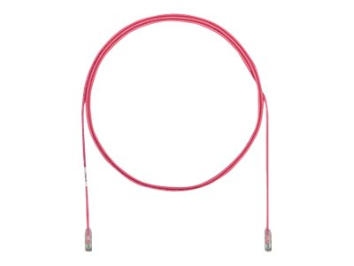 Panduit Cat6e 28AWG UTP CM LSZH Copper Patch Cable, Pink, 65ft