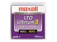 Maxell 400 800GB LTO-3 Ultrium Tape Cartridge, 183900, 5488172, Tape Drive Cartridges & Accessories