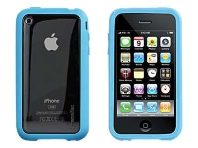 Imation Microshield Accent for IPhone 3GS, Blue, 01983, 11916292, Carrying Cases - Phones/PDAs
