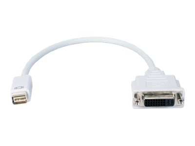 QVS QVS MINI-DVI Male to DVI-D Female Digital Video Adapter, MDVID-MF