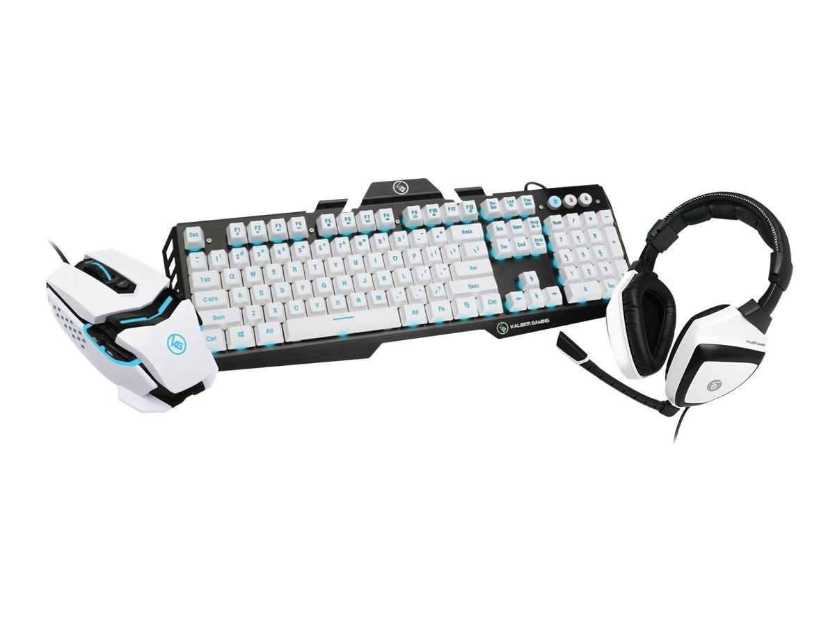 IOGEAR Imperial White Edition Gamer Pack, GKMHKIT1E