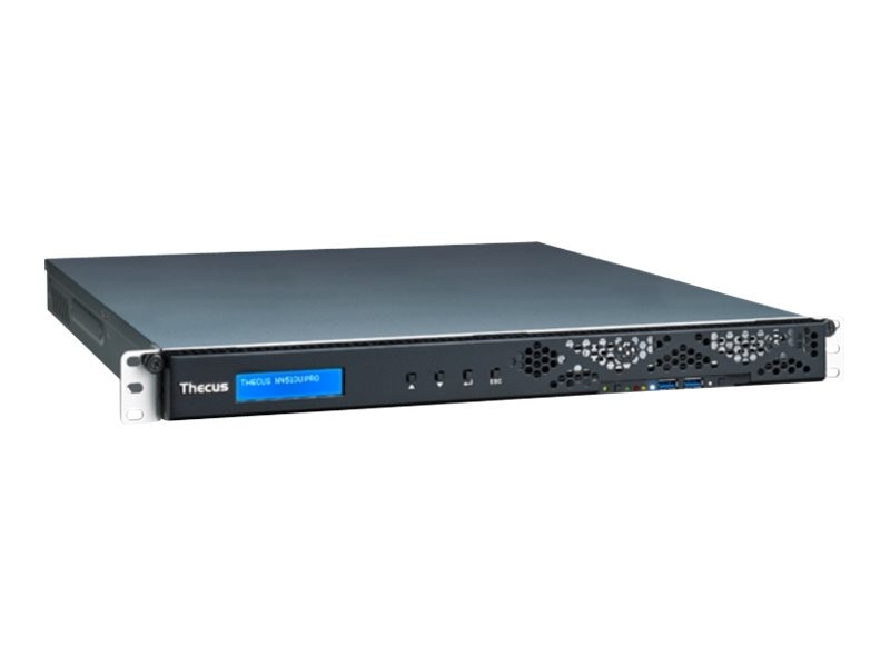 Thecus Tech N4510U Pro S Intel Atom D2701 4-Bay Network Attached Storage, N4510UPROS, 16836953, Network Attached Storage