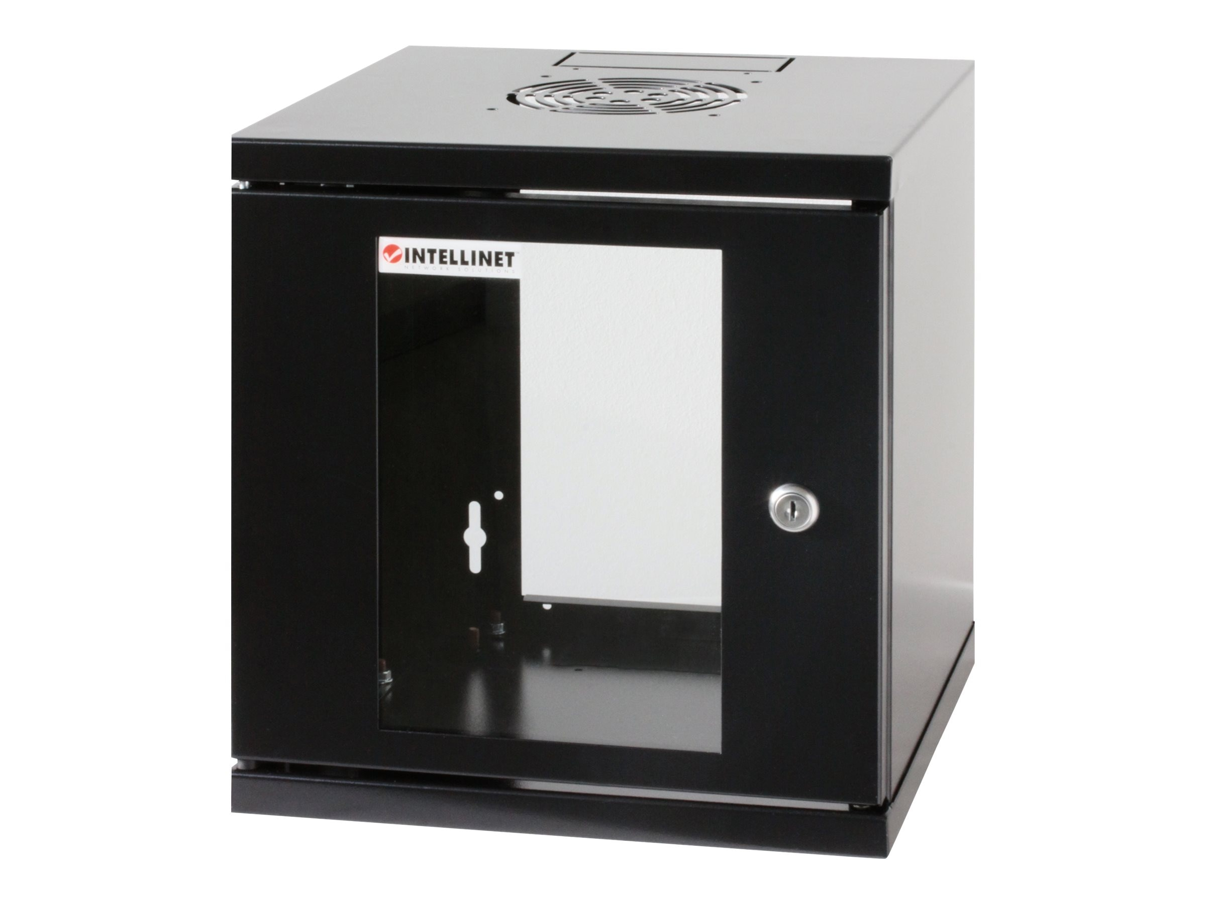 Intellinet 6U 19 Wallmount Cabinet, 711715, 30880459, Racks & Cabinets