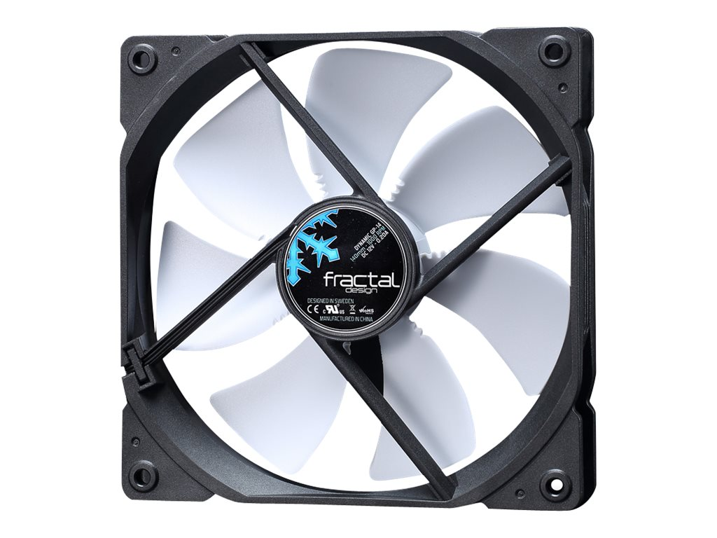 Fractal Design Dynamic GP-14 140mm Fan, White, FD-FAN-DYN-GP14-WT
