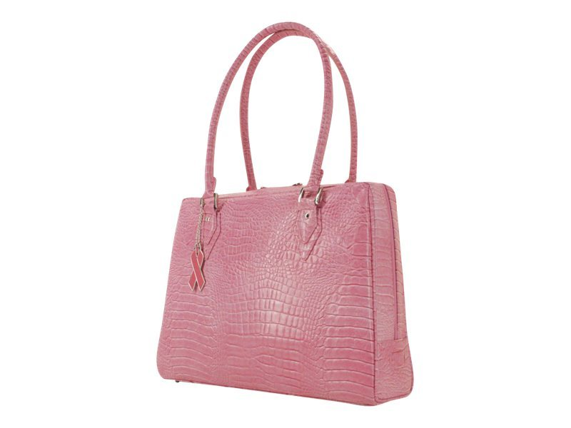 Mobile Edge Komen Milano Handbag, Pink, MEMCXS, 6212725, Carrying Cases - Notebook