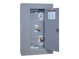 Tripp Lite Maintenance Bypass Panel 3-breaker Wallmount Kirk-key Interlock for 40kVA 3-phase UPS, SU40KMBPK, 8682341, Battery Backup Accessories