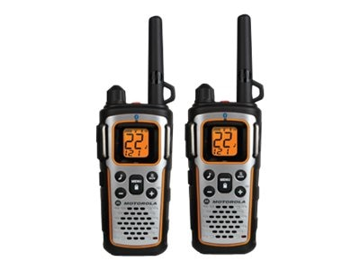 Motorola MU350R Talkabout 2-Way Radio, 35-Mile, Black, MU350R
