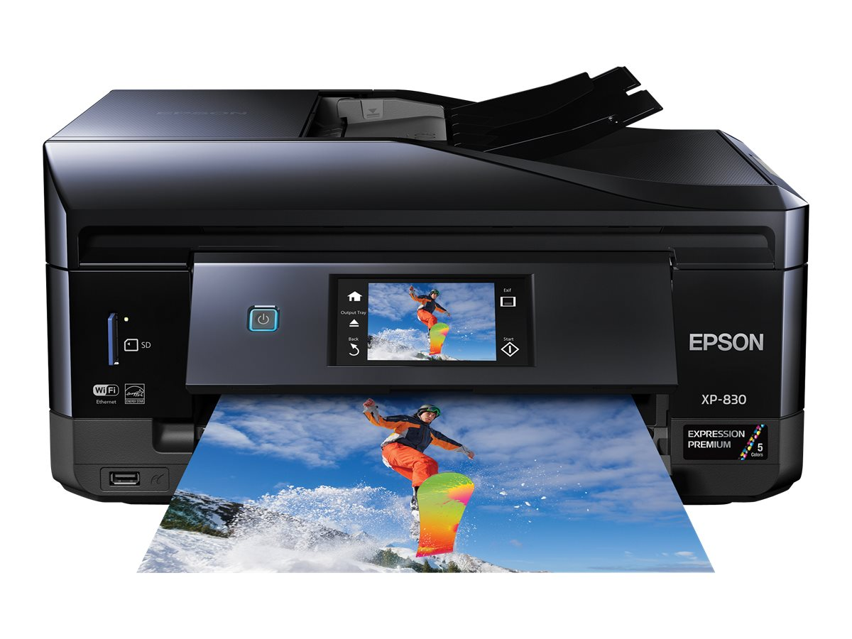 Epson Expression Premium XP-830 Small-in-One All-in-One Printer, C11CE78201