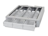 Ergotron SV Supplemental Storage Drawer, Triple, 97-864, 18031737, Cart & Wall Station Accessories