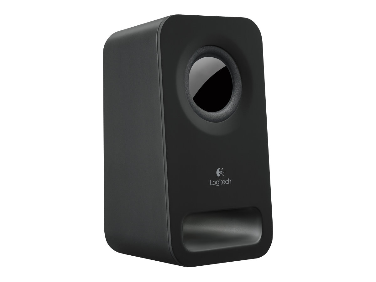 Logitech Z150 Multimedia 2.0 Speakers, Midnight Black, 980-000802