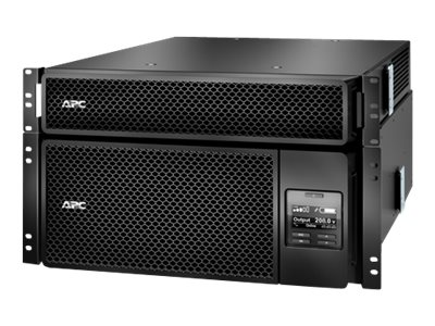 APC Smart-UPS SRT 6000VA RM with 208V to 120V 2U Step-Down Transformer, SRT6KRMXLT-5KTF