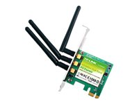 TP-LINK Dual Band Wireless N900 PCI Express Adapter, 2.4GHz 450Mbps 5Ghz 450Mbps, with Low-Profile Bracket