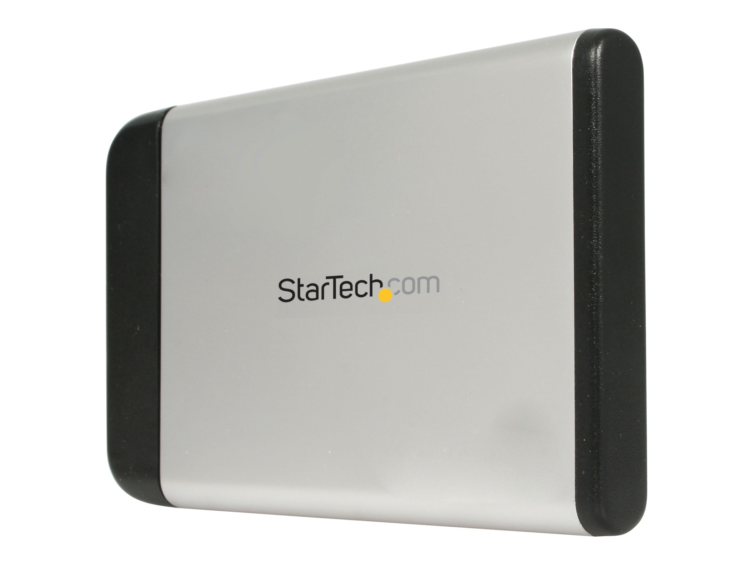 StarTech.com 2.5in Silver USB External Hard Drive Enclosure for SATA HDD, SAT2510U2