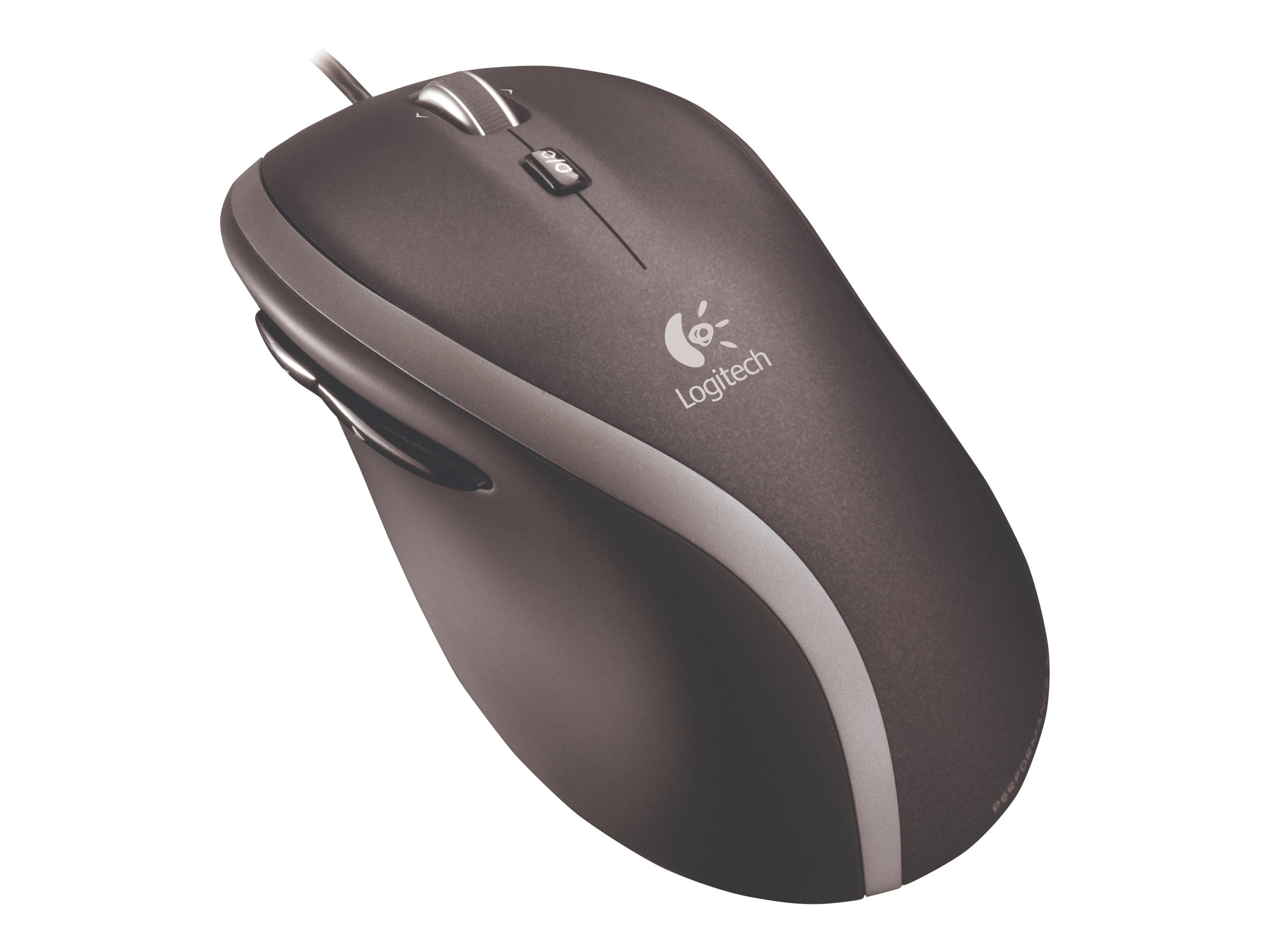 Logitech Corded, Fast-Scrolling Mouse M500, 910-001204