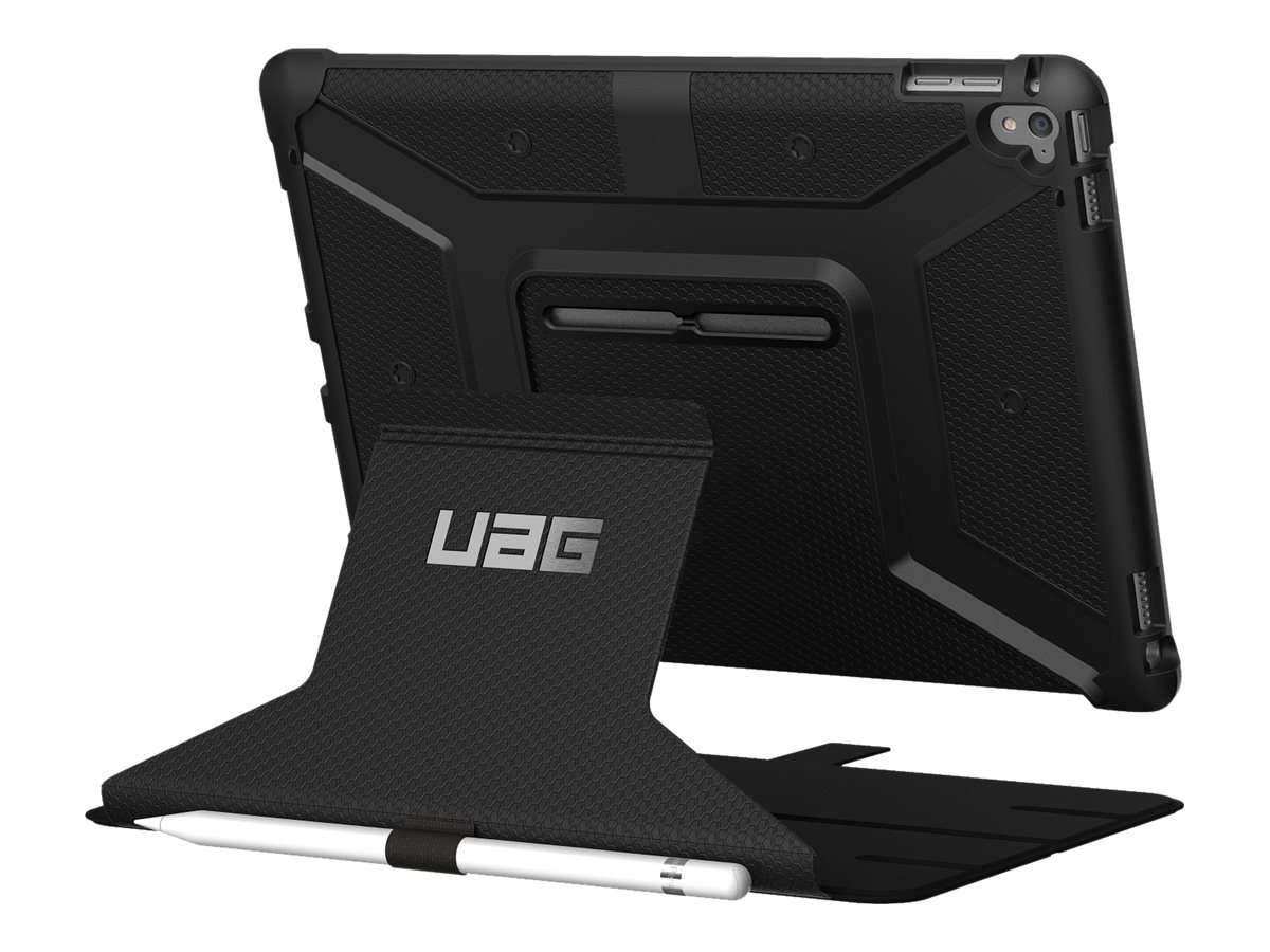 Urban Armor Folio Case, Visual Packaging for iPad Air 3, Black Black, IPDAIR3-BLK