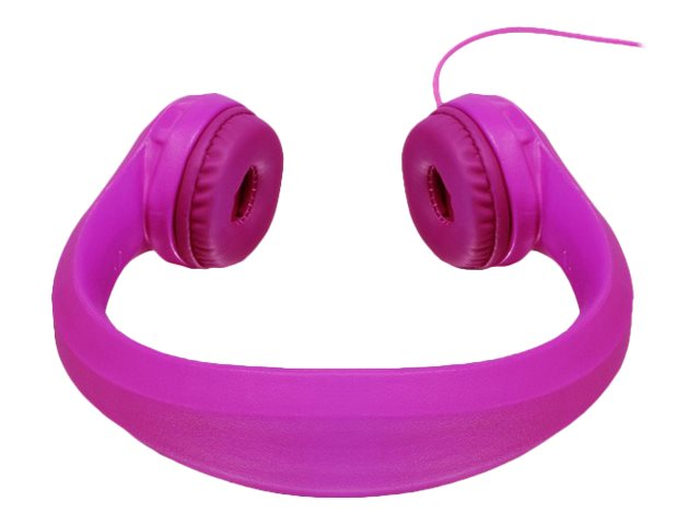 Aluratek Wired Foam Headphones for Kids, AKH01FP