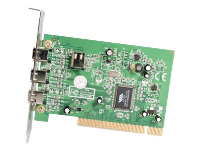 StarTech.com 4-port IEEE 1394 FireWire PCI Card with Digital Video Editing Kit, PCI1394_4