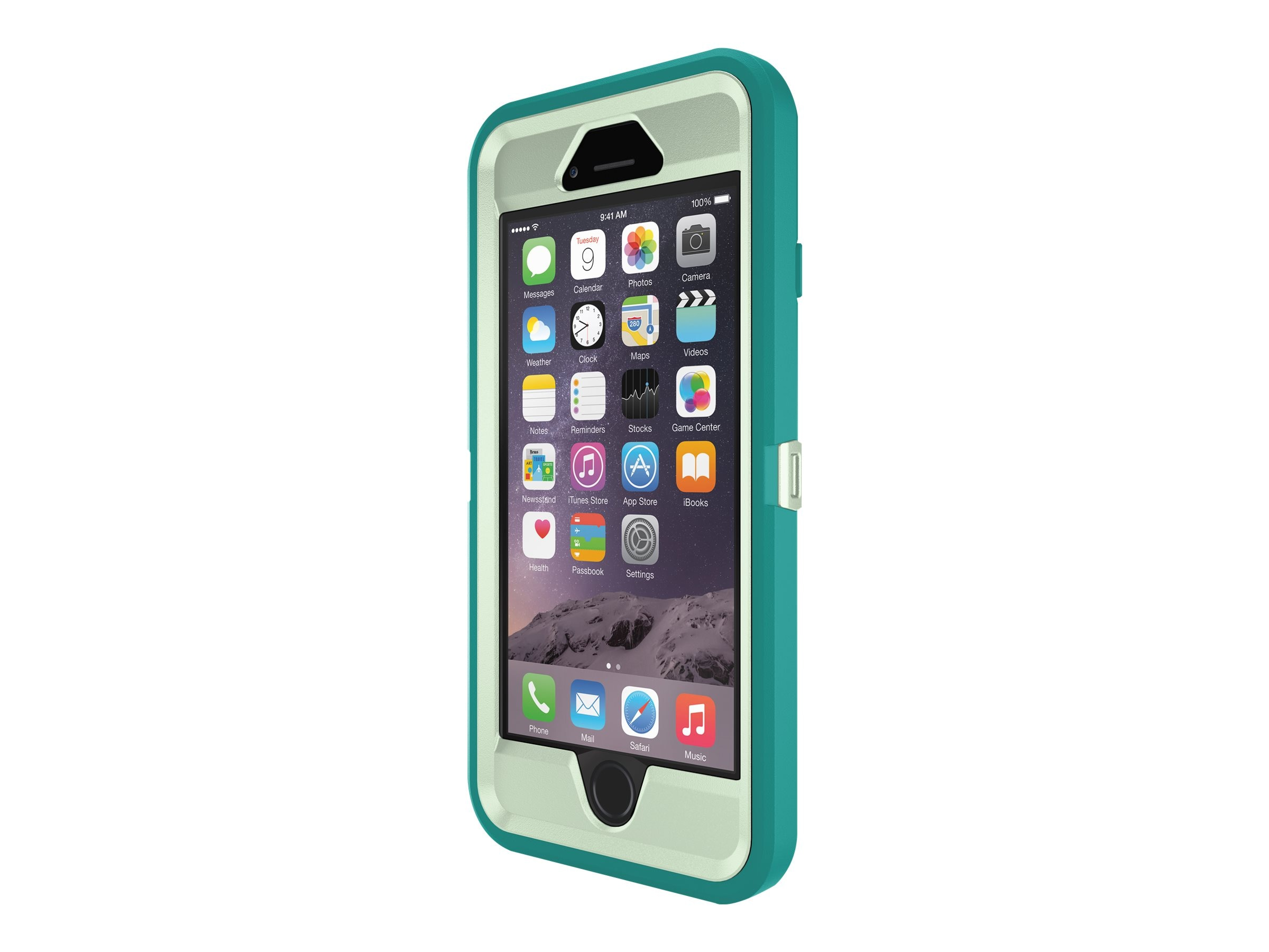 OtterBox Defender Case for iPhone 6 6s, Happy Waves, 77-52142, 30741643, Carrying Cases - Phones/PDAs