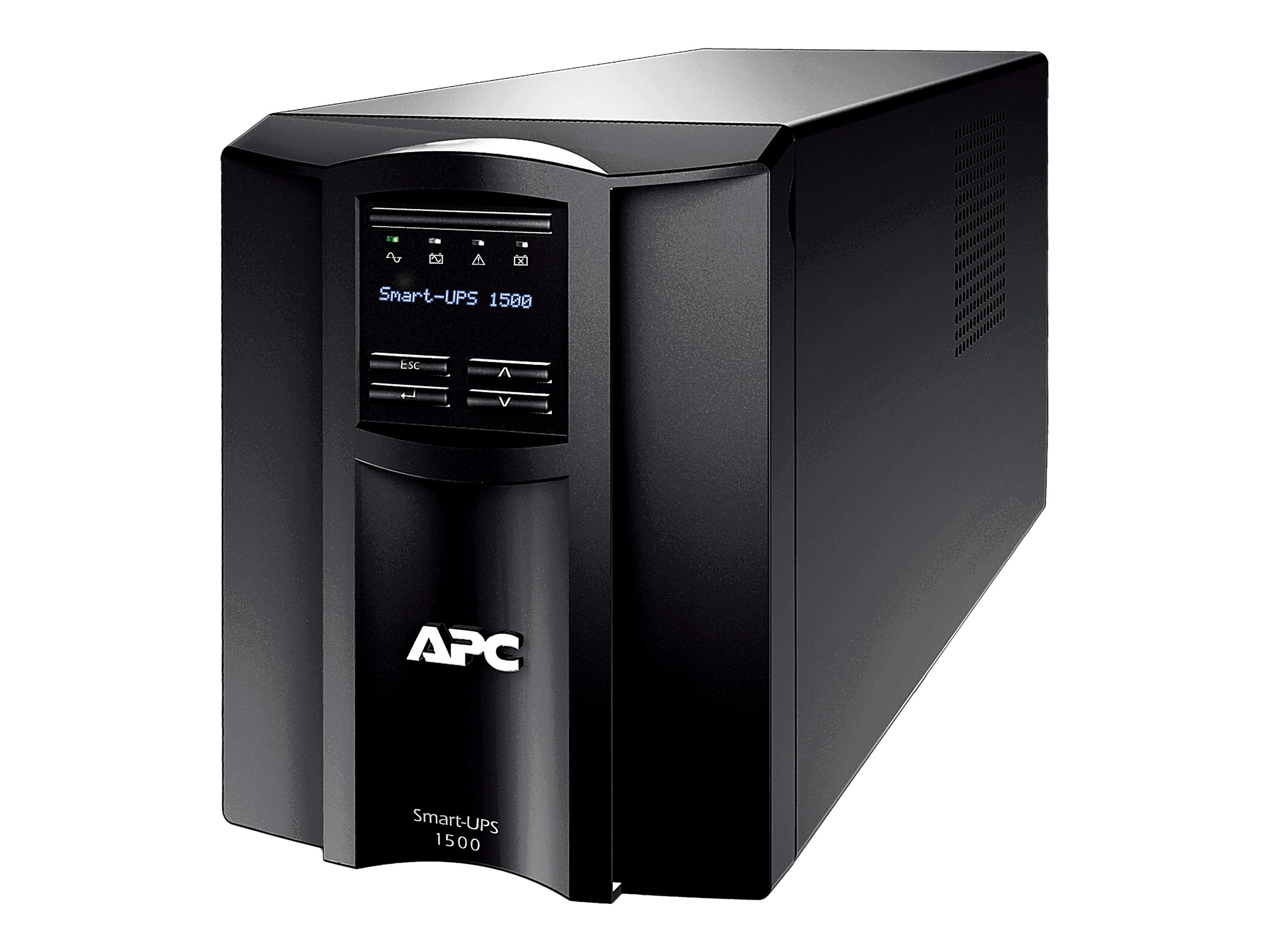 APC Smart-UPS 1500VA 980W 100V Line Interactive LCD Tower UPS (8) Outlets USB, Japan, SMT1500J