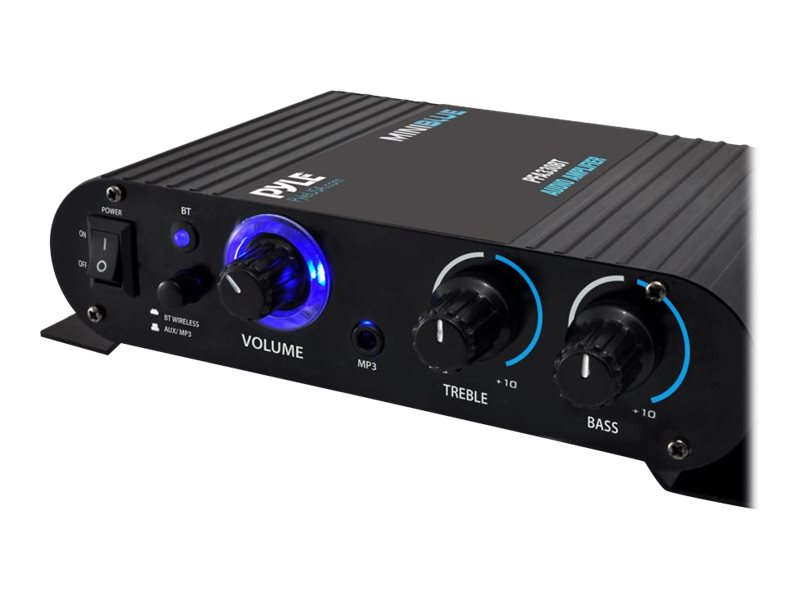 Pyle BT Mini Blue Compact Amp, PFA330BT