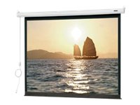 Da-Lite Slimline Electrol Projection Screen, Matte White, 4:3, 72