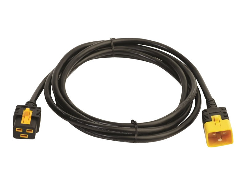 APC Power Cord, Locking C19 to C20, 3.0m, AP8760