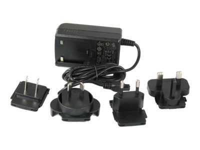 CradlePoint COR Power Adapter for IBR600 IBR1100 Series, US, EU, UK, AU Plugs, 170584-002