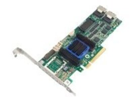 Adaptec RAID 6805 8 Internal Port Low Profile SAS 6Gb s & Gen 2 PCI-Express Unified Serial RAID Controller, 2271200-R, 12603571, RAID Controllers