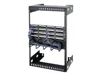 Black Box Open Frame Wallmount Rack 15U x 18d, RMT994A, 10795724, Racks & Cabinets