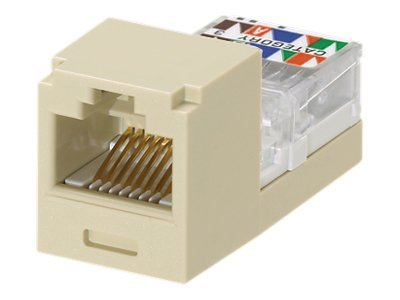 Panduit Category 3, 6-position, 6-wire USOC Module, Electric Ivory