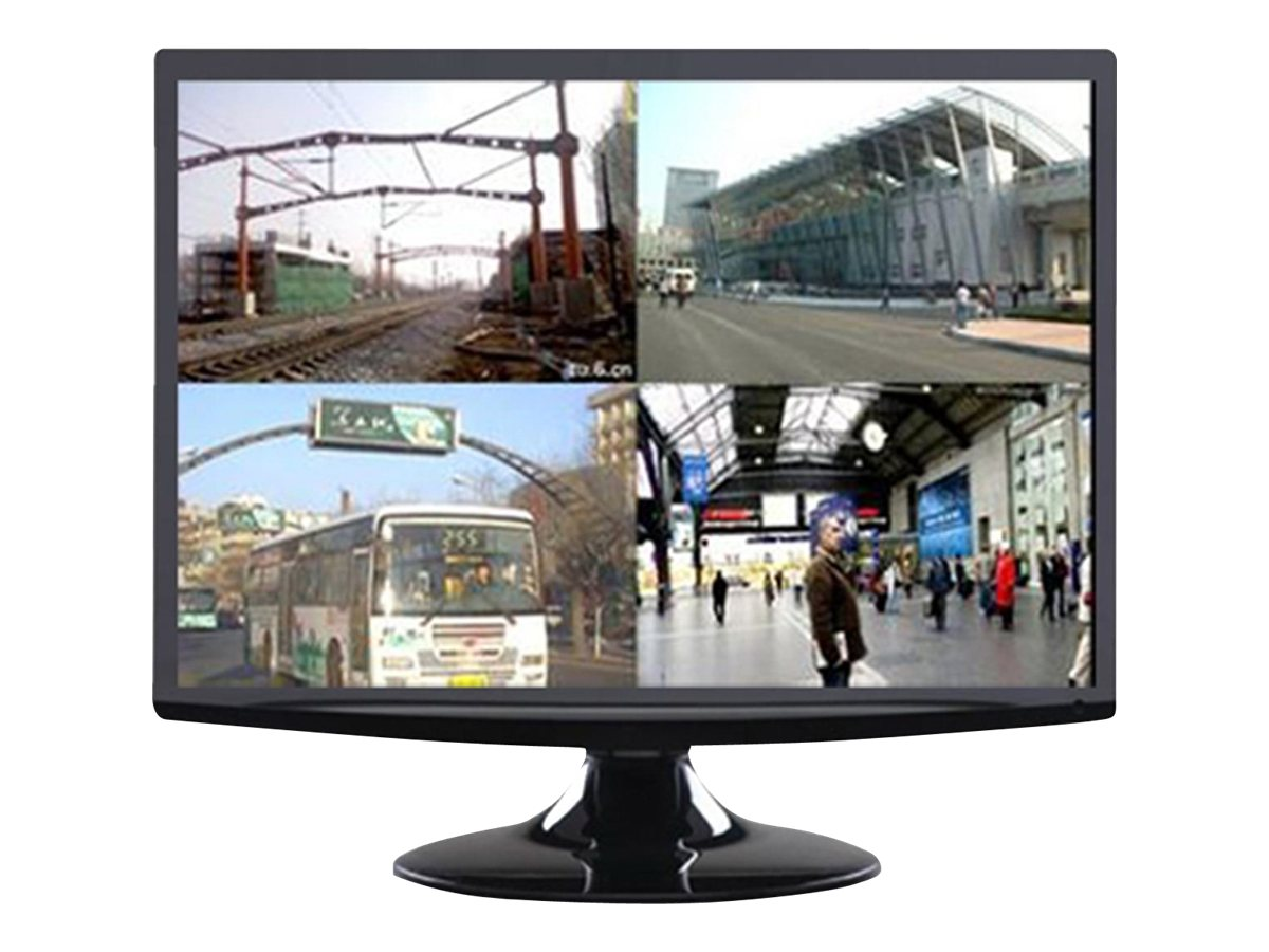 Avue 21.5 AVG22WBV-2D Full HD LED-LCD CCTV Monitor, Black
