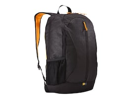 Case Logic Ibira Backpack 15.6, Black, IBIR-115BLACK, 18160871, Carrying Cases - Notebook