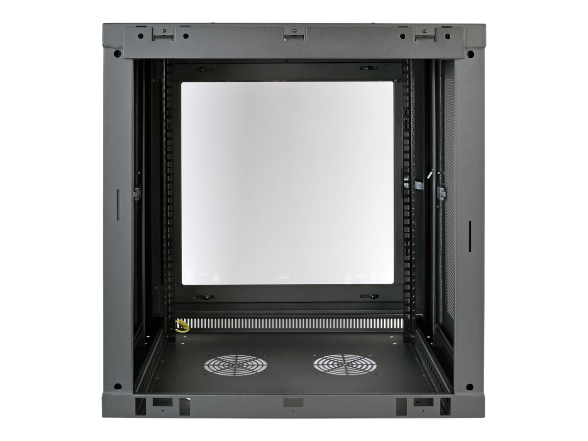 Tripp Lite SmartRack 12U Low-Profile Switch-Depth Wall-Mount Rack Enclosure Cabinet, Instant Rebate - Save $15, SRW12UG