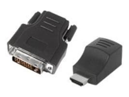 Siig DVI to HDMI over Cat5e Mini-Extender, CE-D20012-S1, 9574377, Video Extenders & Splitters