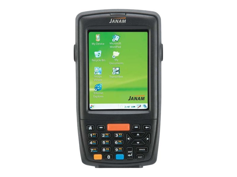 Janam XM60+ Rugged PDA Bluetooth Windows CE 5.0 256MB 256MB 1D Scanning, 2D Ready, Numeric Keypad, XM60N-1NXCBV00