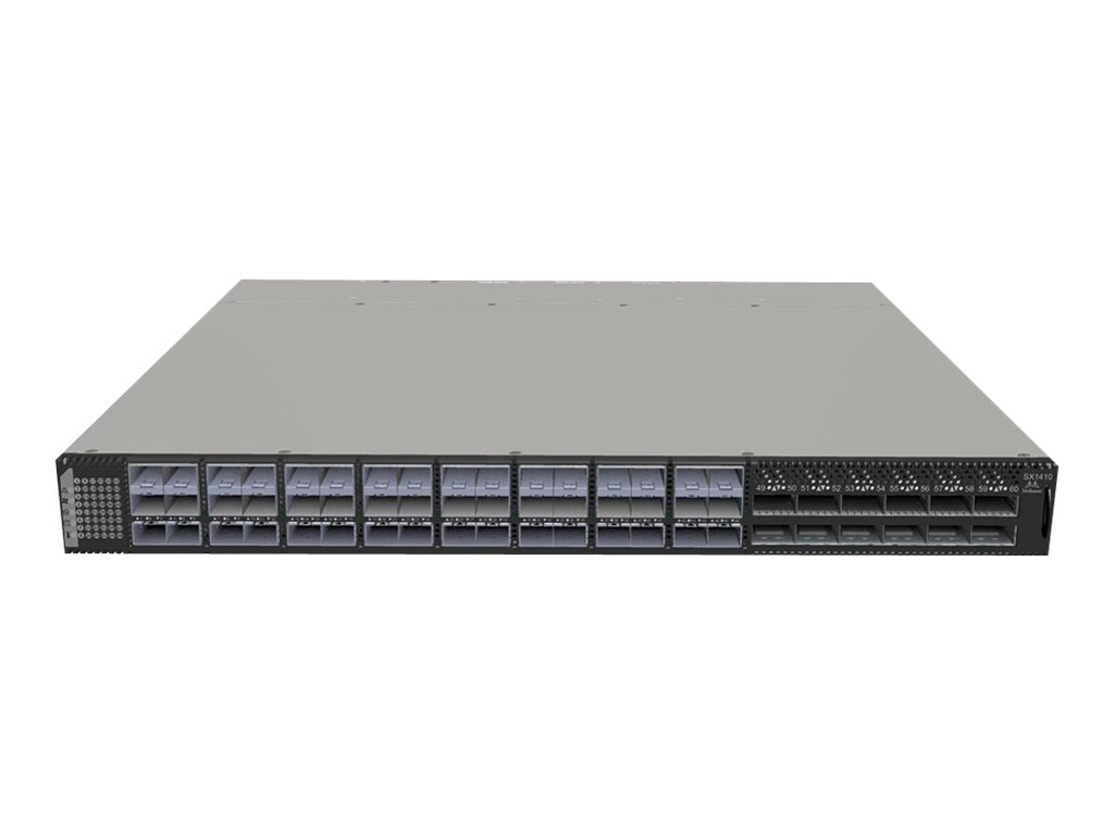 Mellanox 48-Port SFP+ 10GbE 40GbE Switch w 2xAC PS, Rail Kit, MSX1410-BB2R2