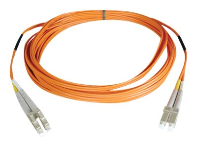 Tripp Lite Fiber Patch Cable, LC-LC, 62.5 125, Duplex, Multimode, 405ft, N320-405, 14870390, Cables