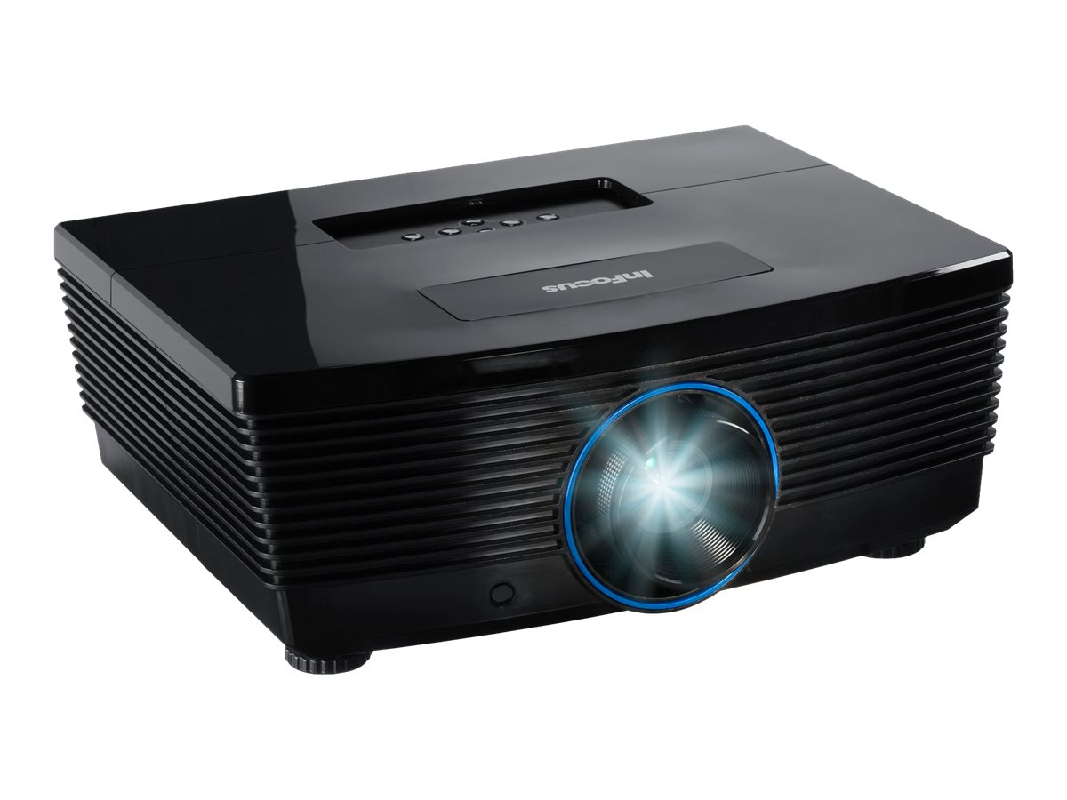 InFocus IN5312A XGA DLP Projector, 6000 Lumens, Black, IN5312A