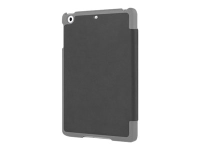 Incipio LGND Premium Hard Shell Folio Case for iPad Air, Gray