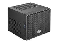 Cooler Master Chassis, Elite 110 Mini-ITX 3x3.5 Bays 2xSlots 1xFan, Black