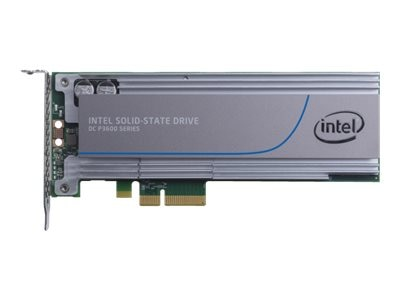 Intel 1.6TB DC P3600 Series Half Height PCIe 3.0 20nm MLC Solid State Drive, SSDPEDME016T401, 17451369, Solid State Drives - Internal