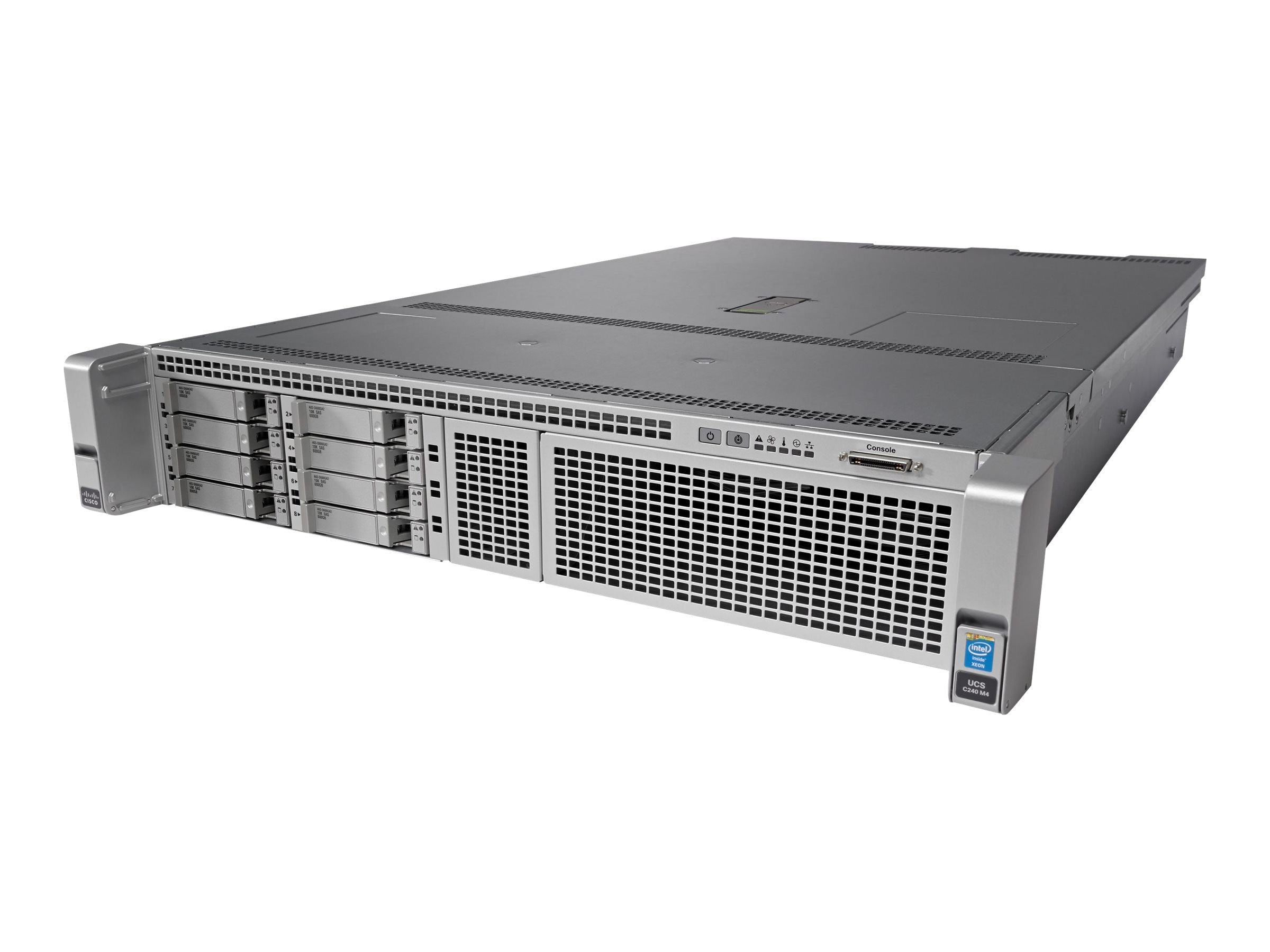 Cisco UCS C240 M4SX (2x)Xeon E5-2660 v3 32GB MRAID, UCS-SPR-C240M4-P1, 17922327, Servers