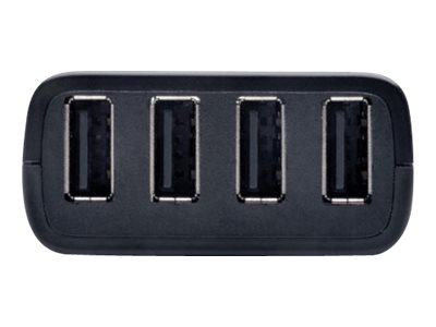 Tripp Lite 4-Port Plug-n-Play USB 2.0 over Cat5 Cat6 Extender Hub, B203-104-PNP